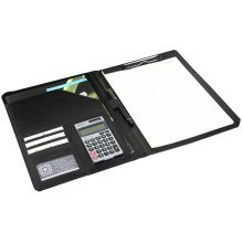 A4 Multi-function Folder Note Book Series Sales Clip Personal-Organizers Black