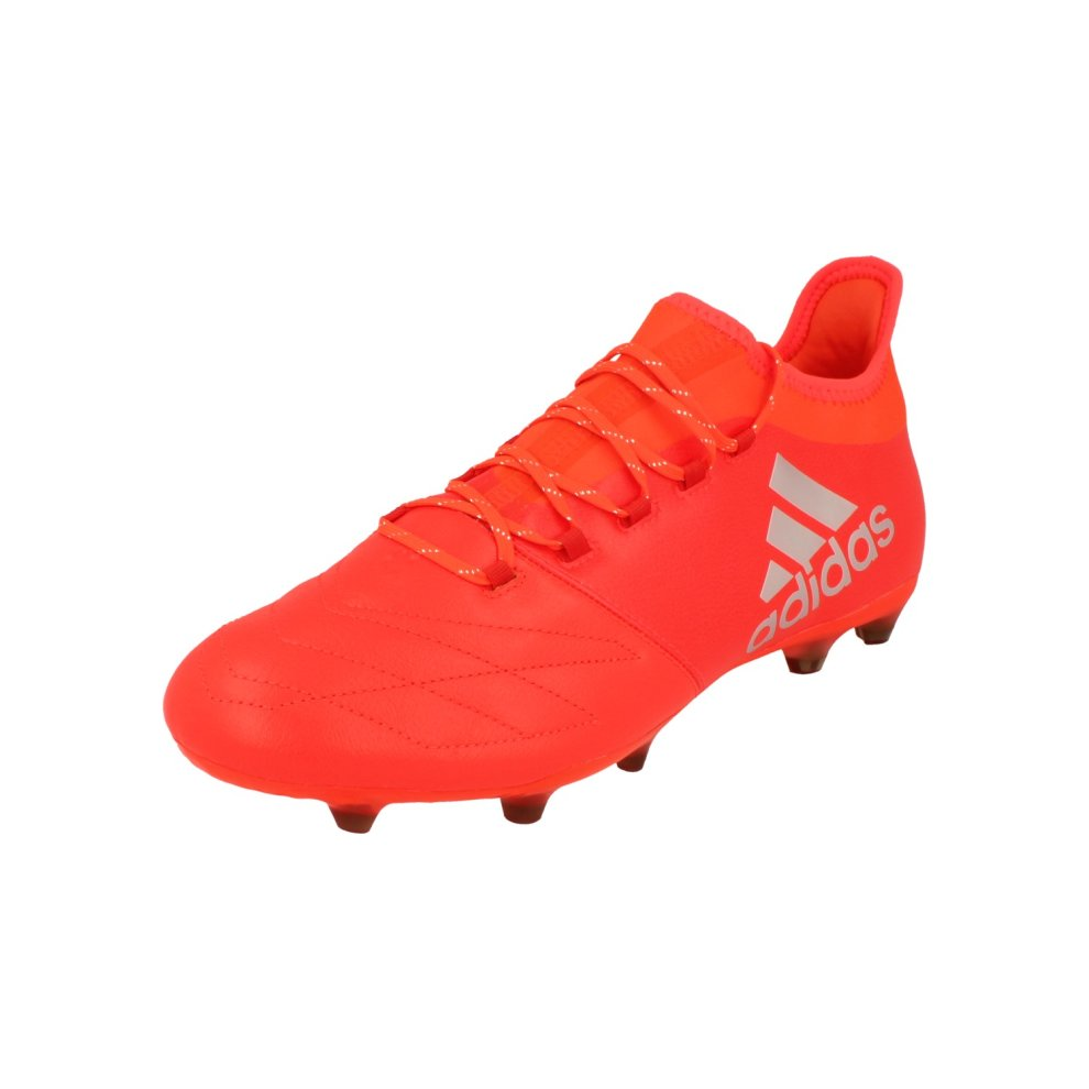 acc13df71 Adidas X16.2 FG Leather Mens Football Boots Soccer Cleats on OnBuy