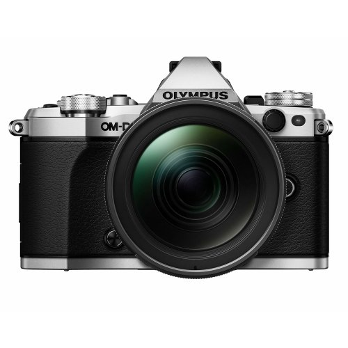 Olympus OM-D E-M5 Mark II Camera With M.Zuiko 12-40mm Pro Lens - Silver