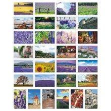 Beautiful Travel Scenery 30 PCS Artistic Retro Postcards-Provence