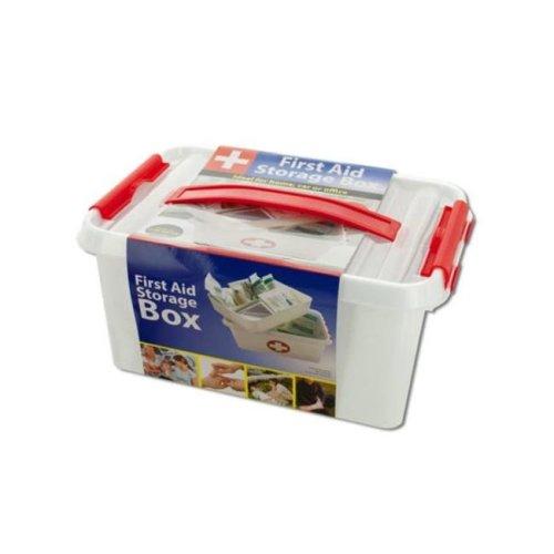 Kole Imports OT565-2 First Aid Storage Box - Pack of 2