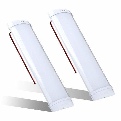 Interior Lights,LED Car Strip Lights DC12V 12W 72 LEDs Lights Bar Strip Lamp Universal Lighting Up Boat Motorhome Kitchen Bathroom ON/OFF Switch