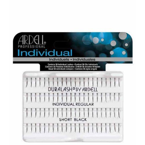 Ardell Duralash Individual Regular Short Eye Lashes, Black