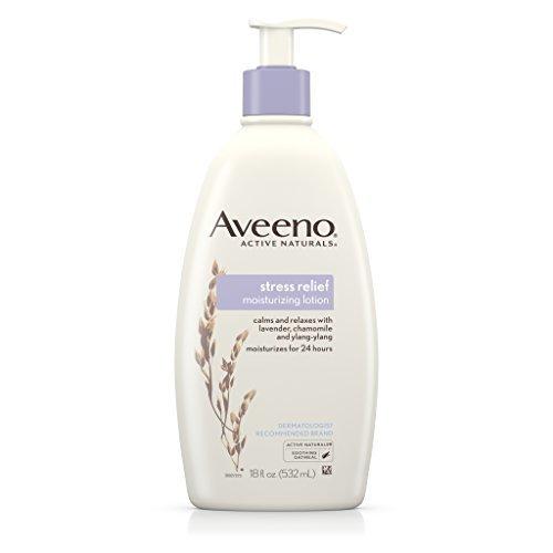 Aveeno Stress Relief Moisturizing Lotion For 24 Hour Moisturization, 18 Fl Oz