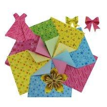 360 Pieces of Origami Craft Paper 15x15cm