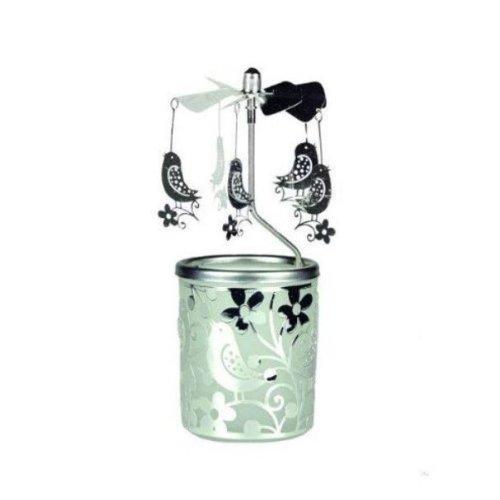 Tea Light Spinning Carousel - Birds - Gift/Home Decoration