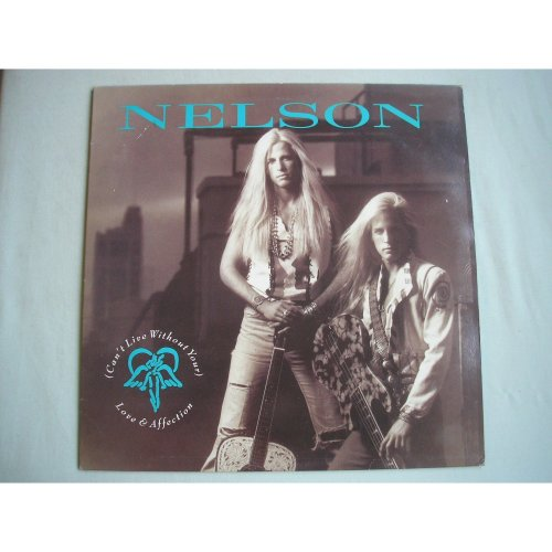 "NELSON Can't Live Without Your Love UK 12"" single PS 1990 ex/ex"