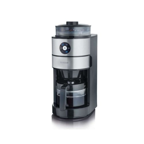 Severin KA4811 Coffee Maker with Integrated Stainless Steel Grinder 820 W Black