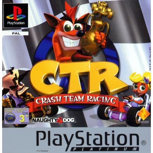 Crash Team Racing - Platinum (PS)