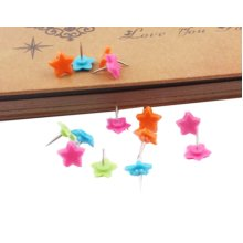 Little Star Pushpins Drawing Pin 50 Pcs for shcool or office