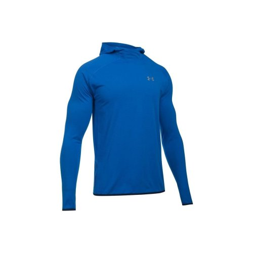 Under Armour Streaker Pull-Over Hoody 1285042-907 Mens Blue sweatshirt Size: S