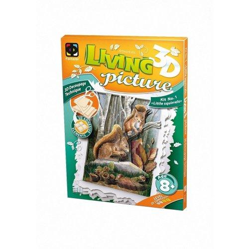 Elf956021 - Fantazer 3d Living Picture - Little Squirrels