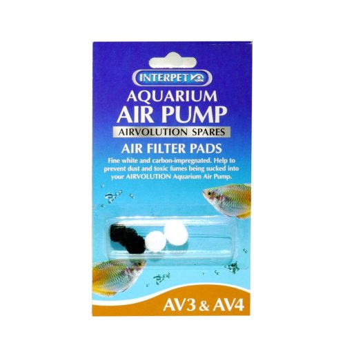 Aquarium Air Volution Spare Filter Pads For Av3&4 (Pack of 5)