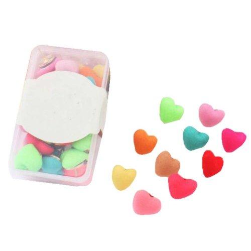 30 Pcs Creative Pushpin Push Pin Thumbtack Office Supplies, Cloth