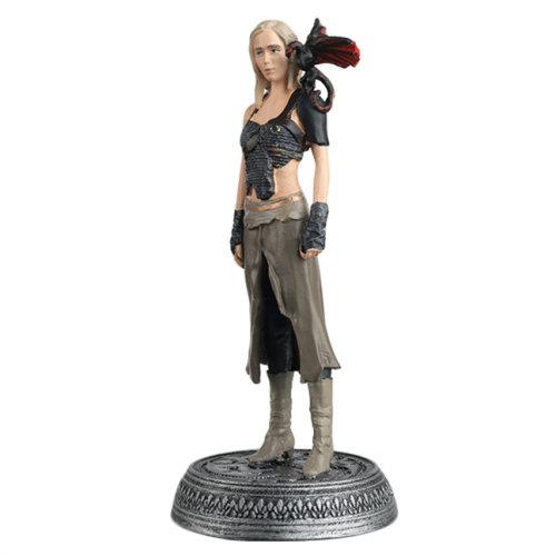 HBO Game Of Thrones Eaglemoss Figure #8 Daenerys Targaryen & Drogon