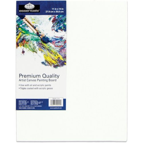 """essentials(TM) Premium Canvas Board-11""""X14"""""""
