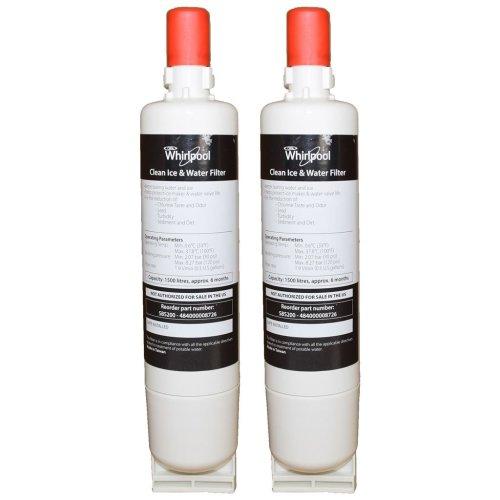 2 x Fridge Water Filter SBS002 - SBS200 - S20BRS