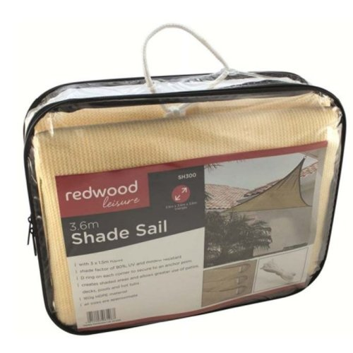 3.6m Shade Sail Outdoor Cover Shade
