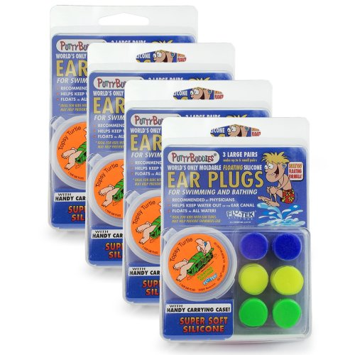Putty Buddies (3 Pack) Floating(colour may vary) (4 Packs (12 Pairs))