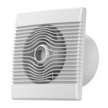 Premium Bathroom High Flow Extractor Fan 150mm Timer Pull Cord Humidistat