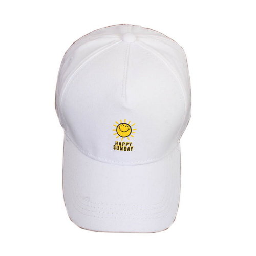 Sun Sports Caps Fashion Caps Ladies Baseball Caps Women Golf Hats White