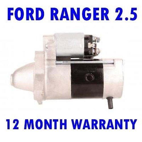 Ford ranger 2.5 3.0 TDCI 1999 2000 2001 2002 2003 - 2015 starter motor