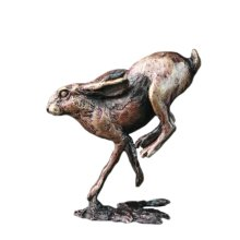 Bronze Hare Running Figure - Butler & Peach - 2042