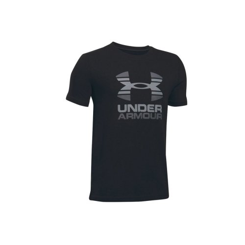 Under Armour Two Tone Logo SS Kids Tee 1298292-001 Kids Black t-shirt Size: XS