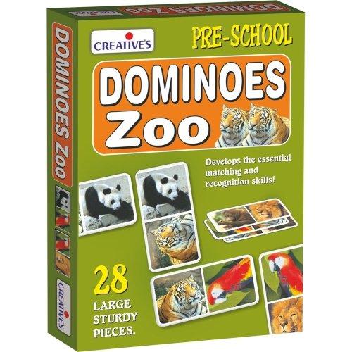 Cre0650 - Creative Pre-school - Dominoes-zoo