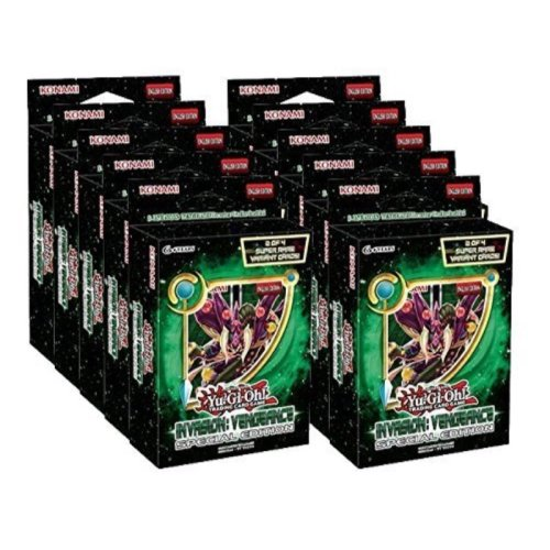 Yu-Gi-Oh Invasion Vengeance Special Edition Display Box (10 Mini-Box)