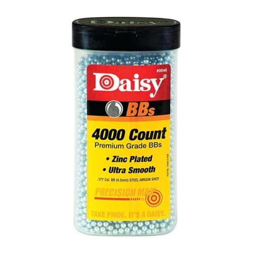 Daisy Outdoor Products 980040-446 Zinc Plated Steel Pellets - 4000 Count