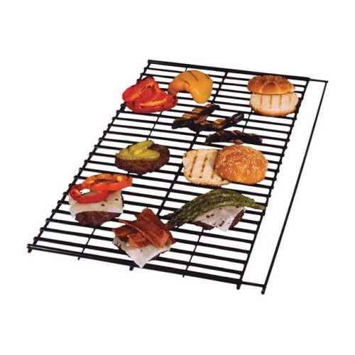 Char-Broil 8011459 Steel Porcelain Grill Grate, Black - 0.68 x 25 x 14.19 in.
