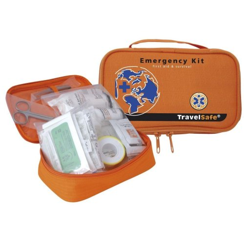 TravelSafe Travellers Emergency Kit - First Aid and Sterile