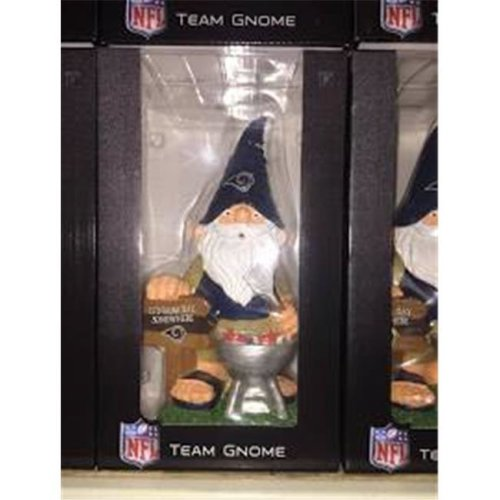 Caseys 8934597036 Barbecue Los Angeles Rams Garden Gnome