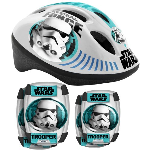 Stamp Sheet Stamp–sw190507–Star Wars–Helmet, Knee and Elbow Pads Set