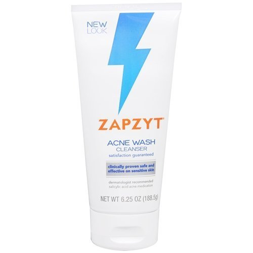 ZapZyt Acne Wash, 6.25 oz,