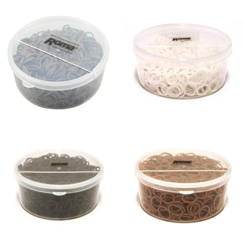Roma Plait Aid Rubber Bands (Tub Of 800)