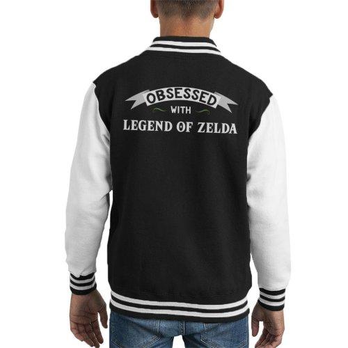 Obsessed With Legend Of Zelda Kid's Varsity Jacket