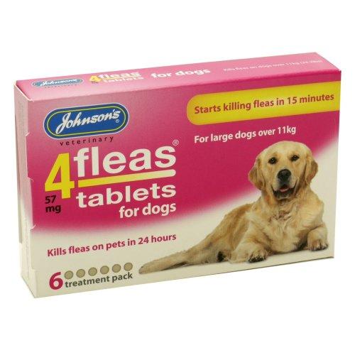 4fleas Tablets - Dogs Over 11kg 6 Tablets (Pack of 6)