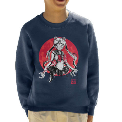 Sailor Moon Pretty Guardian Kid's Sweatshirt