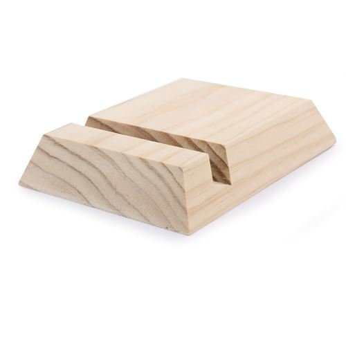 Wooden Tablet Holder To Decorate - 13cm x 10cm x 2.5cm