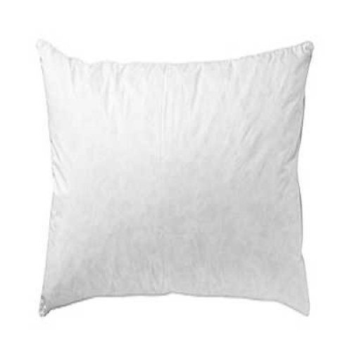 """26"""" x 26"""" Duck Feather Cushion Pad 100% Outer Cover White"""