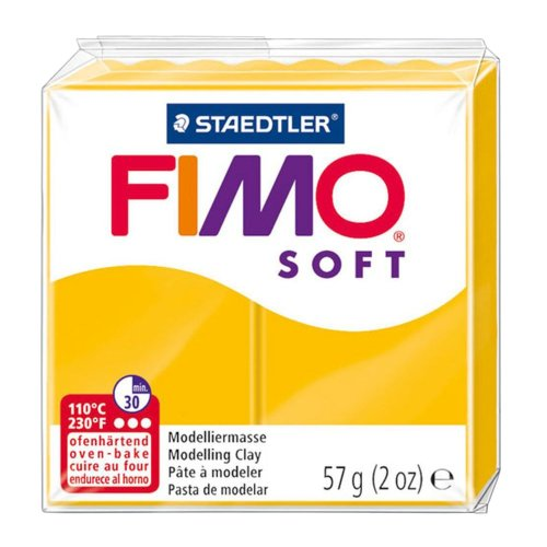 Fimo Soft Modelling Clay, Sunflower, 57 g