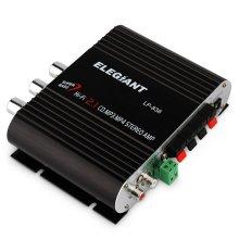 ELEGIANT Mini 200W 12V Hi-Fi Car Stereo Amplifier Power Channel
