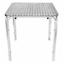 Tresnik Stainless Steel Garden Table Square