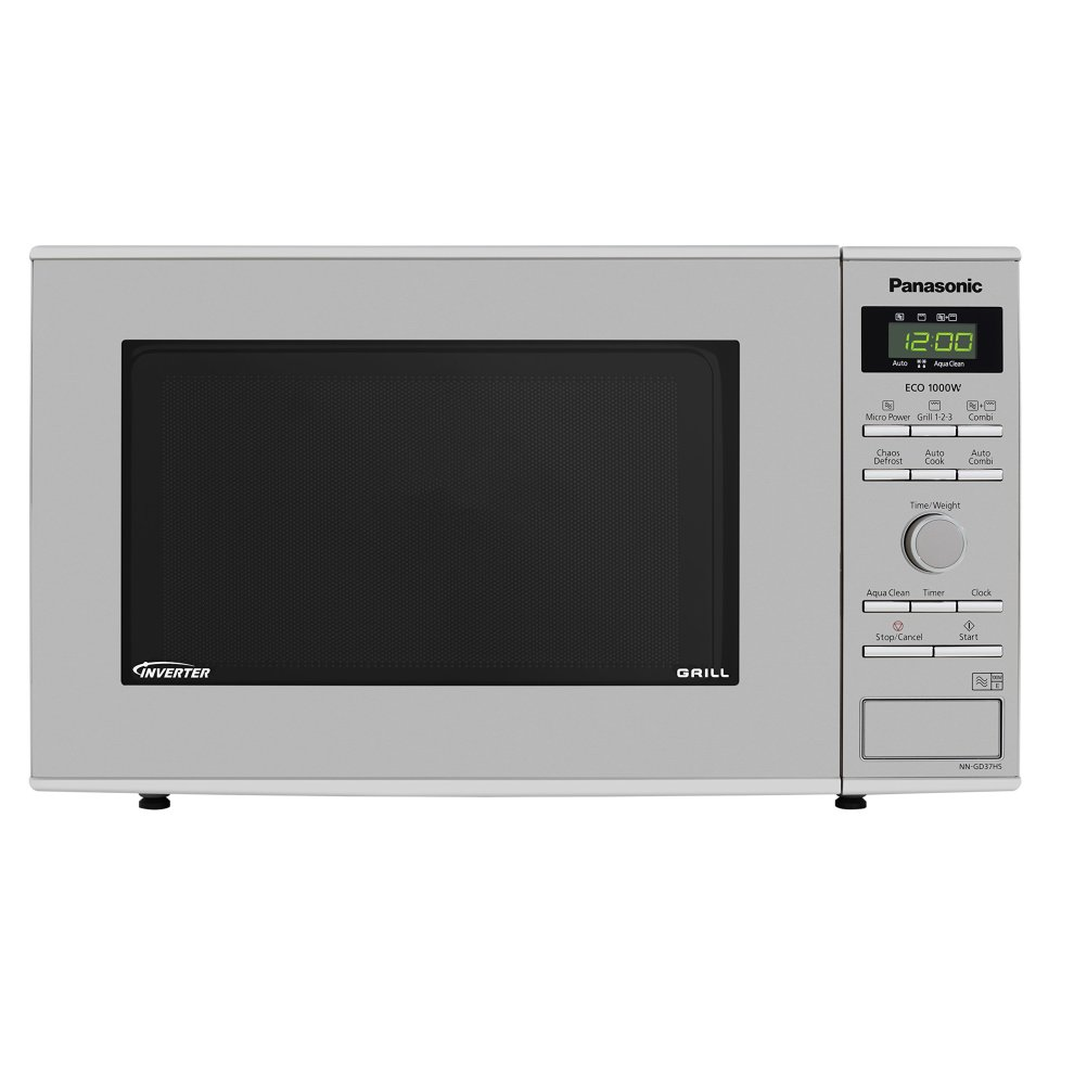 Panasonic Nn Gd37hsbpq Inverter Microwave Oven With Grill 23 Litre 1000 W Stainless Steel On