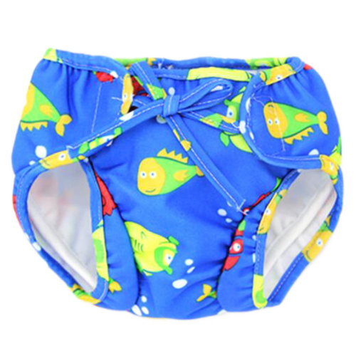 Reusable Swim Diaper Adjustable Absorbent Shower Diapers for Baby Toddler, A11
