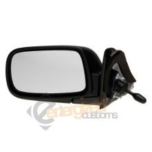 Toyota Corolla 6/1997-12/2001 Cable Paintable Wing Door Mirror Passenger Side