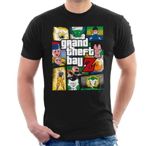 Grand Theft Ball Z Grand Theft Auto Dragon Ball Z Men's T-Shirt