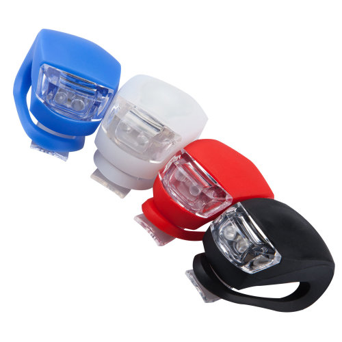 4pc Trixes Silicone Bike Light Set | Front & Back LED Cycling Lights